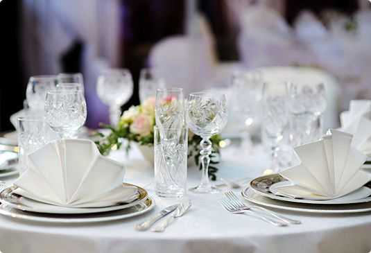 Restaurant Table Cloth Services And Rentals Service