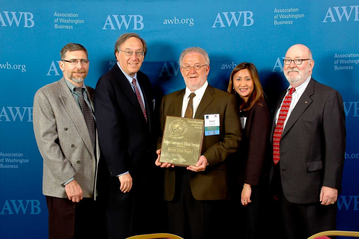 Service Linen Supply Wins Coveted Awb Environmental